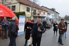 Uskrsna akcija na vinkovačkoj gradskoj tržnici