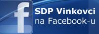SDP Vinkovci na Facebook-u